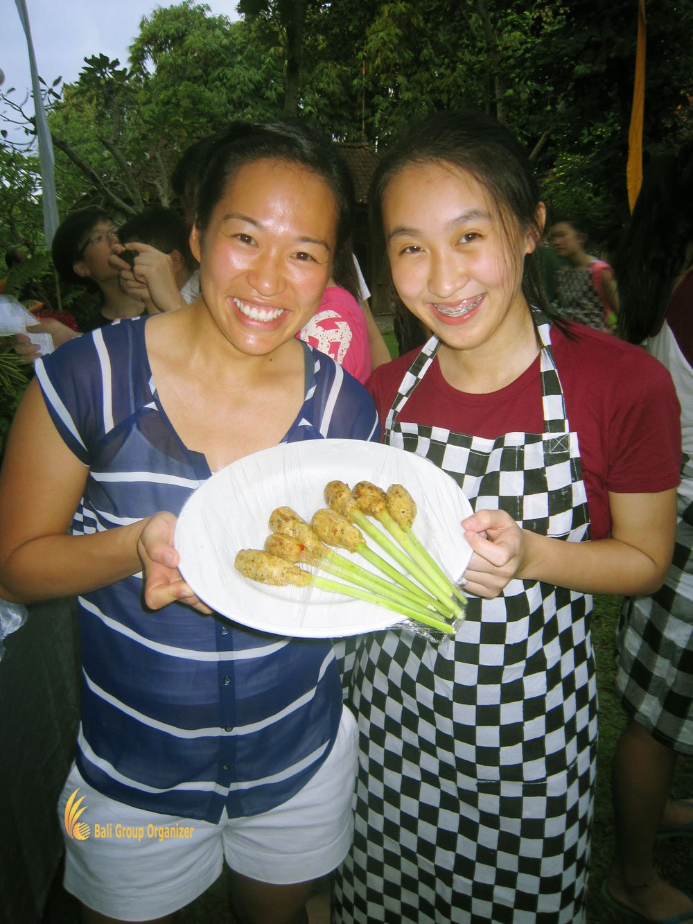 cais, cais hongkong, bali, bali education trips, cooking presentation