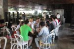 DHL, meeting, check in, pepper seminyak, lunch