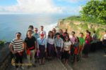 DHL, tour, uluwatu, temple, uluwatu temple, group, photo, group photo