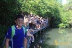 British, school, manila, international, international school, british international school manila, bali, student, tour, student tour, group photo, mangrove, bali, place of interest