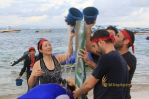 hotelbeds, photo, beach, team, team building, fun, games, fun games, ice breaking, tanjung benoa, sakala, water tower, photo