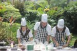 Outdoor MasterChef Cooking Competition Venue