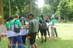 warisan group session, garden team building, warisan group