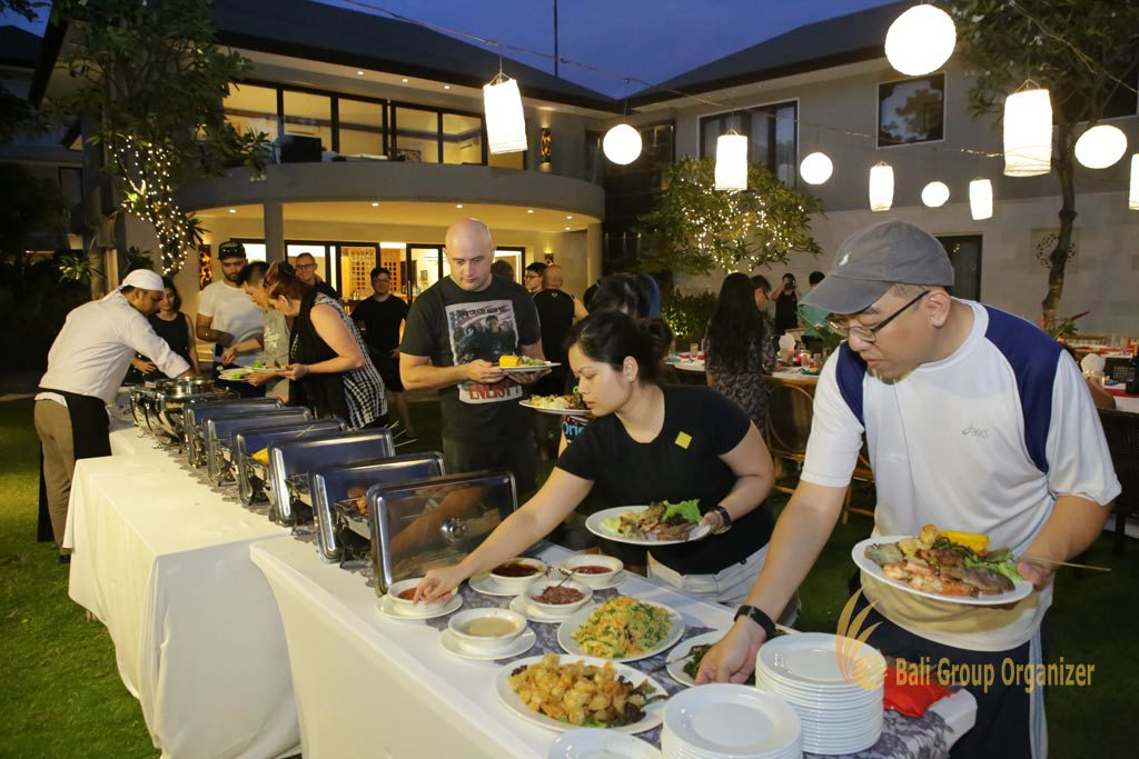 buffet food dinner, Singapore Software Company, Singapore Software Company group