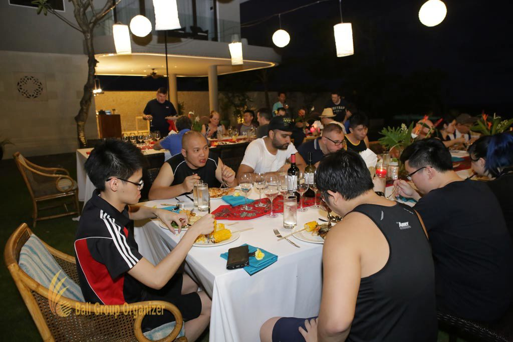 group dinner, Singapore Software Company, ground labs group