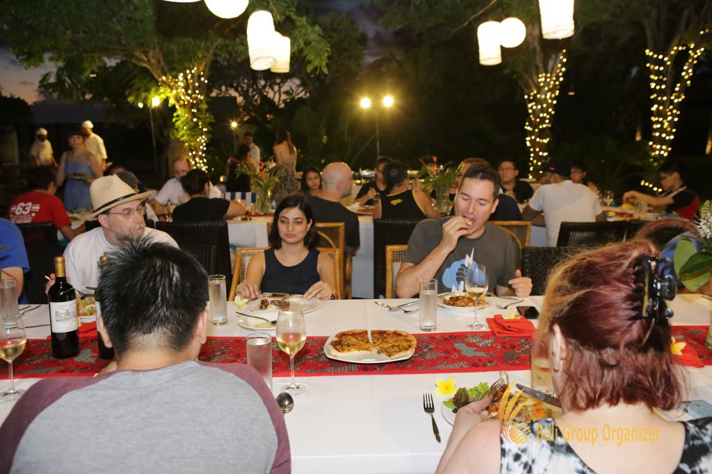 welcome dinner, Singapore Software Company group