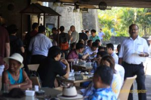 tea time, uluwatu tour, itmf, itmf conference