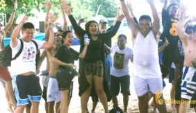J&T Express – Beach Team Building