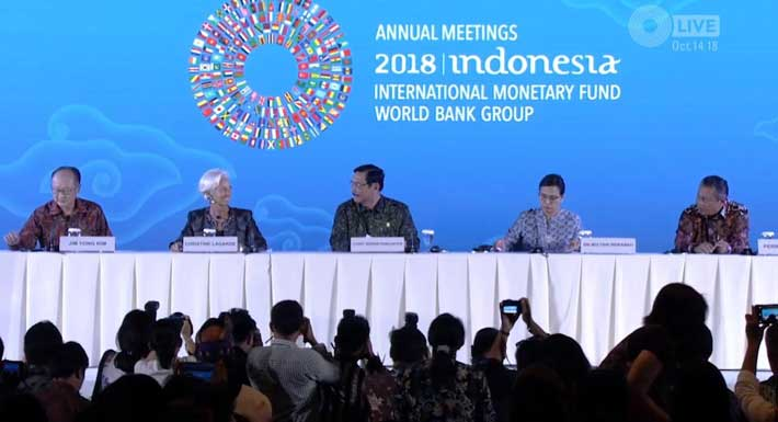 IMF Meeting Participants Praised Indonesia's success as a Host