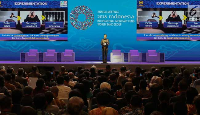 imf meeting, imf meeting participants, president joko widodo
