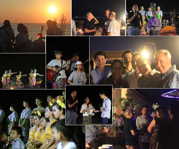 team-building and CSR program of AON Benfield group , bali csr, bali charity, aon benfield