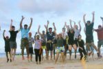 beach team building, team building, bali beach team building, group references, mastercard