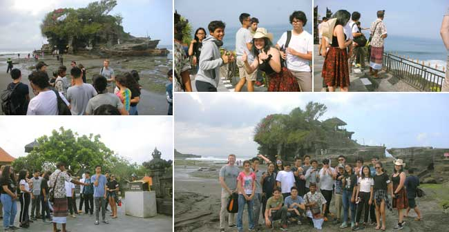 Medan Independent School a student trip to Bali tanah lot tours, mis, medan independent school, bali student tours, education trips