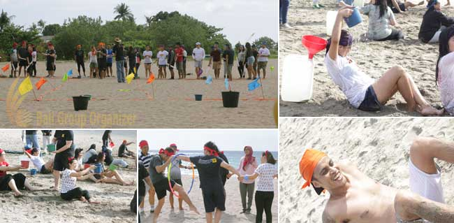 beach team-building experience competition phase, competition games, beach team building, team building, oentoeng suria