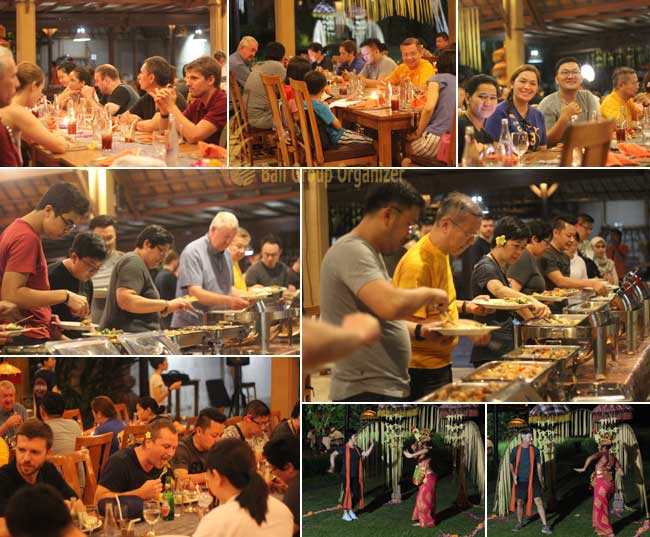 Cycling adventure in Ubud of Thuasne group ubud dinner, dinner, ubud, cycling, adventure, ubud cycling, cycling adventure, thuasne group