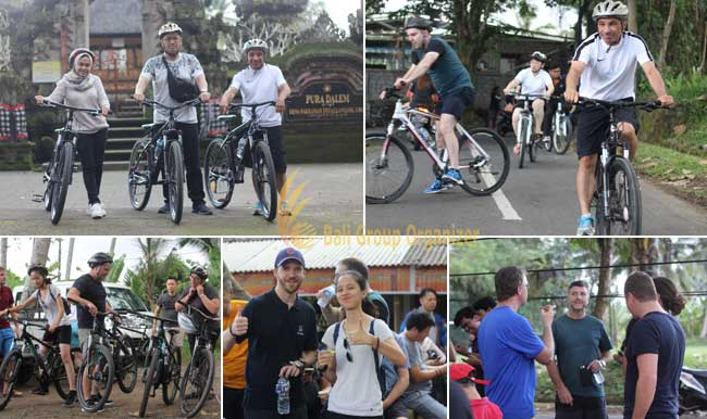 Cycling adventure in Ubud of Thuasne group break time, ubud, cycling, adventure, ubud cycling, cycling adventure, thuasne group