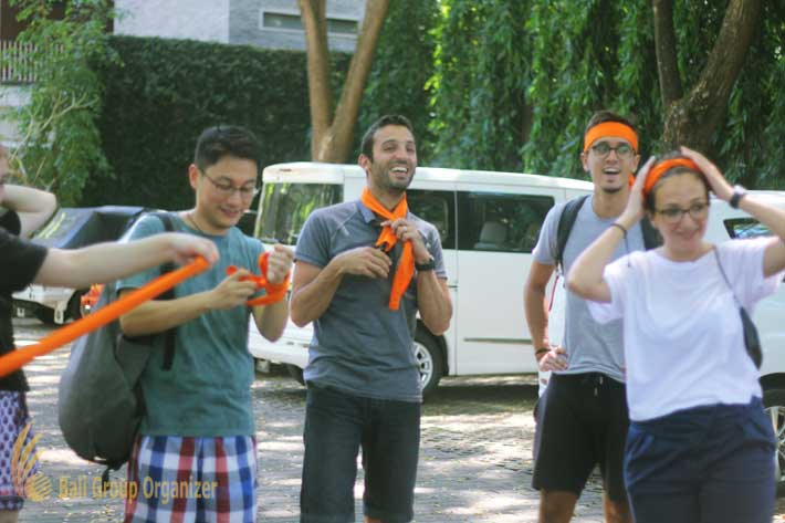 courtyard nusa dua, bali, team building, edenred group vw safari treasure hunt