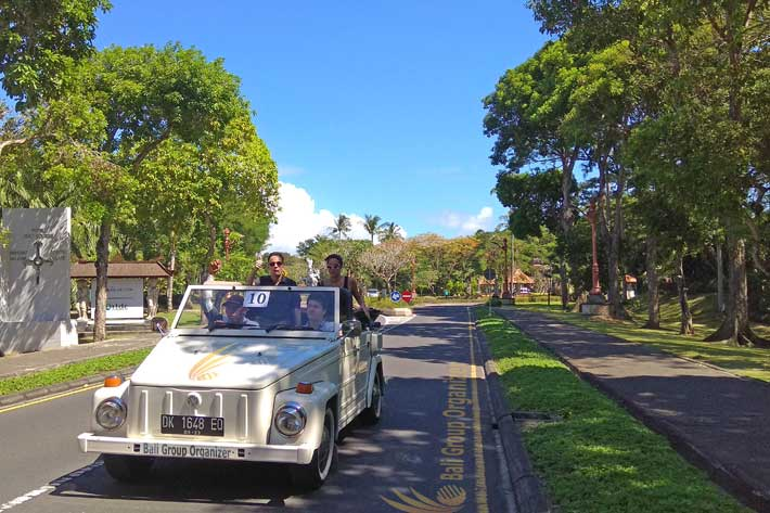 Nusa Dua VW Safari Tour