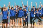 expedia group, expedia group beach team building, beach team building