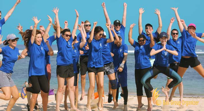 Expedia Group Beach Team Building Experience
